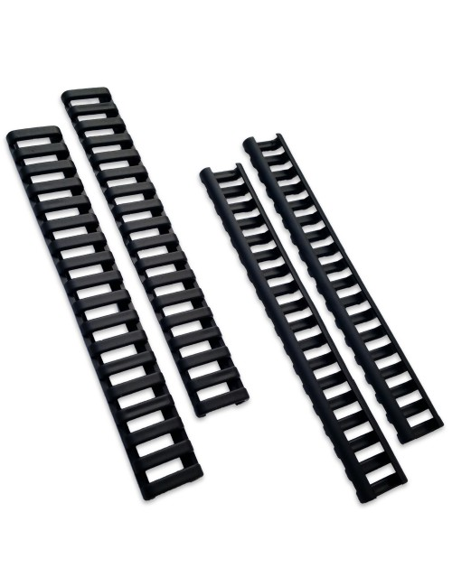 Ladder rail covers | Black