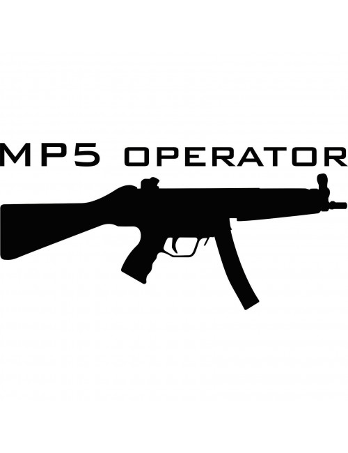 MP5 Operator decal