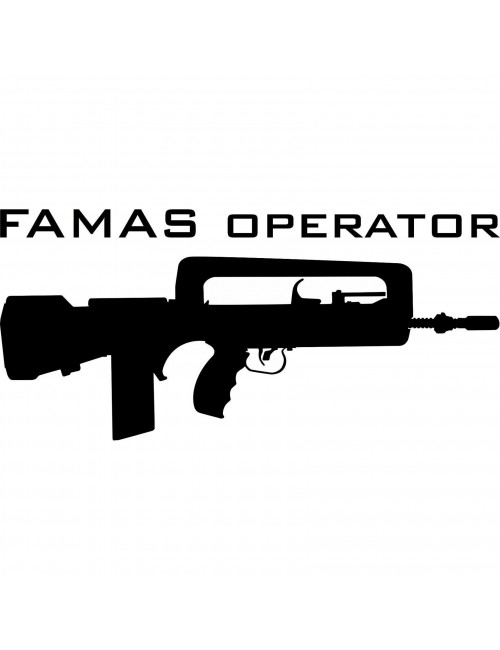 Famas Operator decal