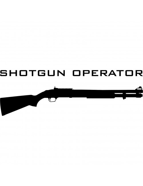 Shotgun Operator decal