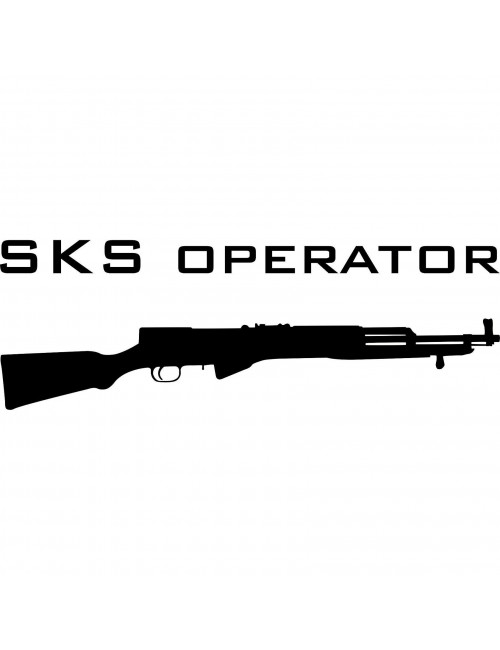 SKS Operator decal