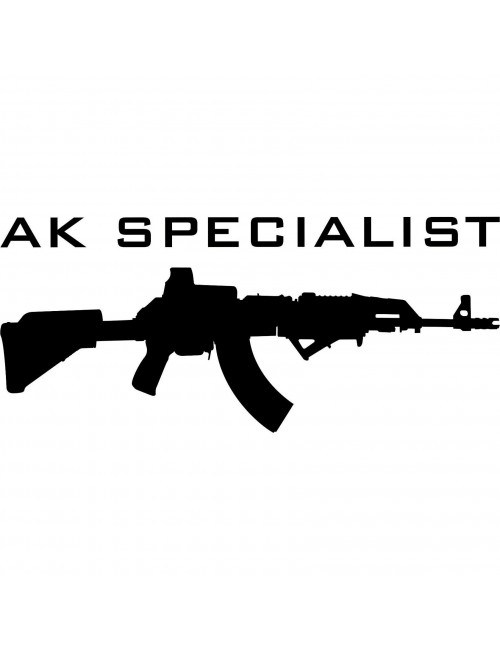 AK Specialist decal | Black