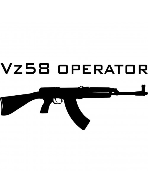 Vz58 Operator decal