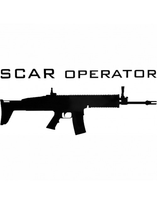 SCAR Operator decal | Black