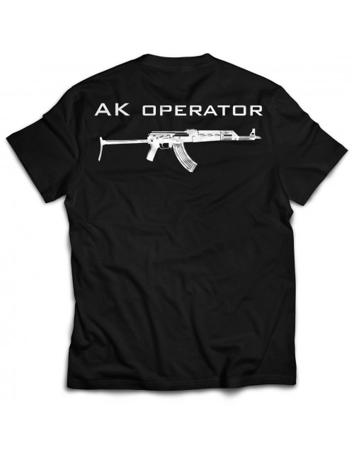 AK Operator 1.0 T-shirt | Black