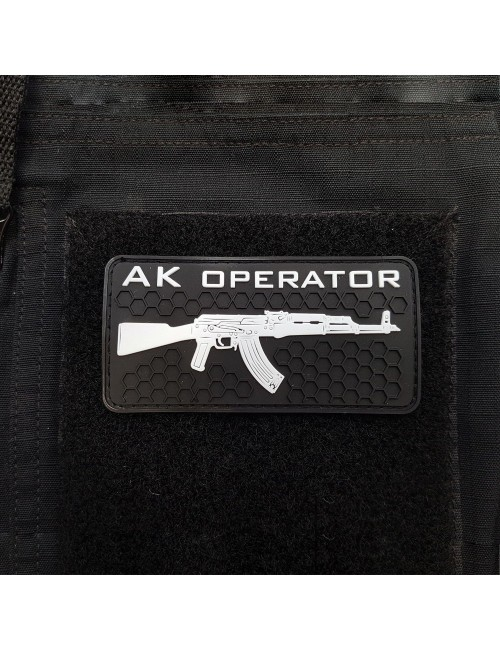AK Operator Patch | Black