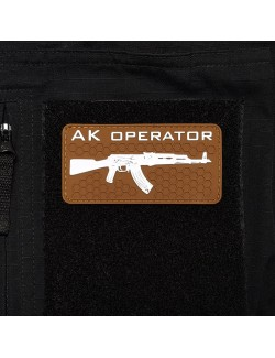 AK Operator Patch | Coyote Brown