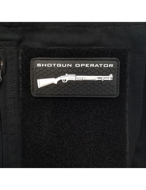 Shotgun Operator PVC Patch